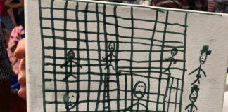 dibujos de migrantes
