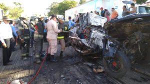1 muerto deja accidente en Santa Cruz de Yojoa