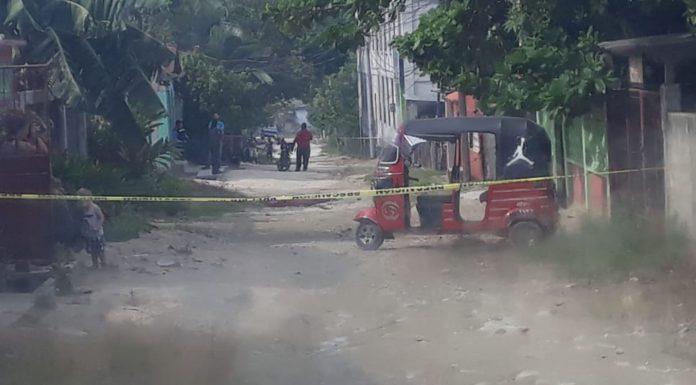 Matan conductor de mototaxi