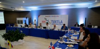 Delegaciones internacionales llegaron desde ayer