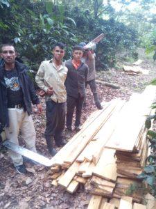 La Tigra sigue siendo devastada por malos hondureños