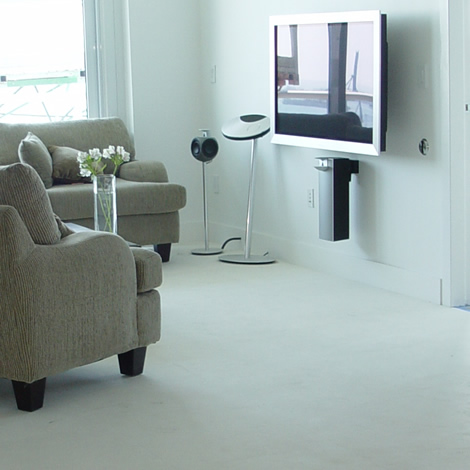 Bentley Bay, High-end audio visual home theater design, sales and installation in South Beach, Florida.