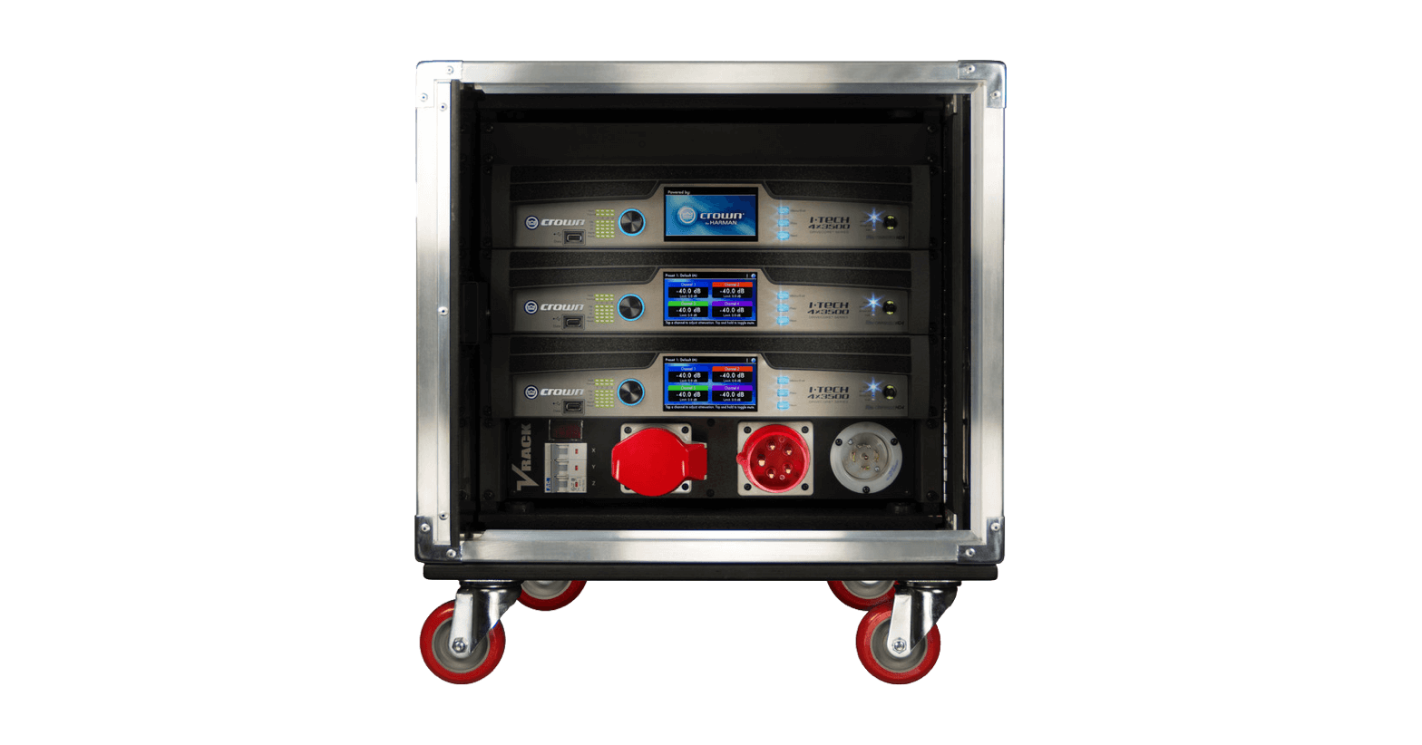 Sales and installation of Production recording studios, Stage & Touring Amplifiers & Amplification Racks Systems.