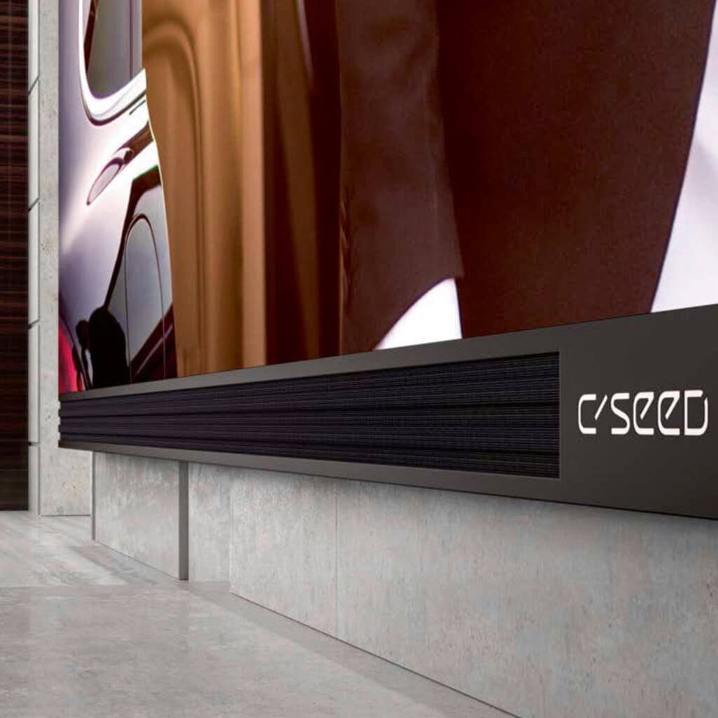Sales, installation, and integration of C SEED Blade, The World's largest 4k TVs, in the Miami / Fort Lauderdale area.