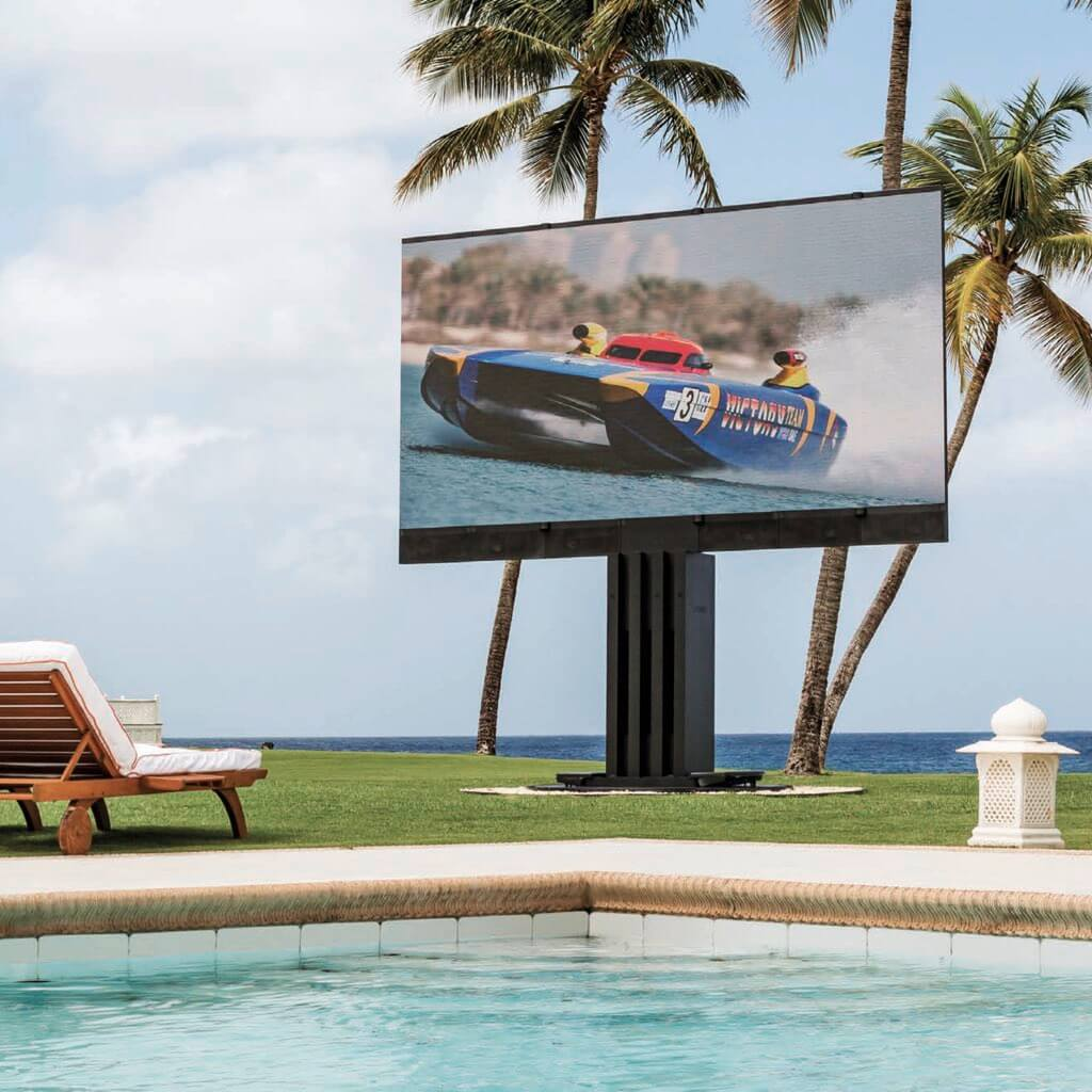 Sales, installation, and integration of C SEED 201 Foldable, Giant Outdoor LED TV, in the Miami / Fort Lauderdale area. Available at dmg Martinez Group.