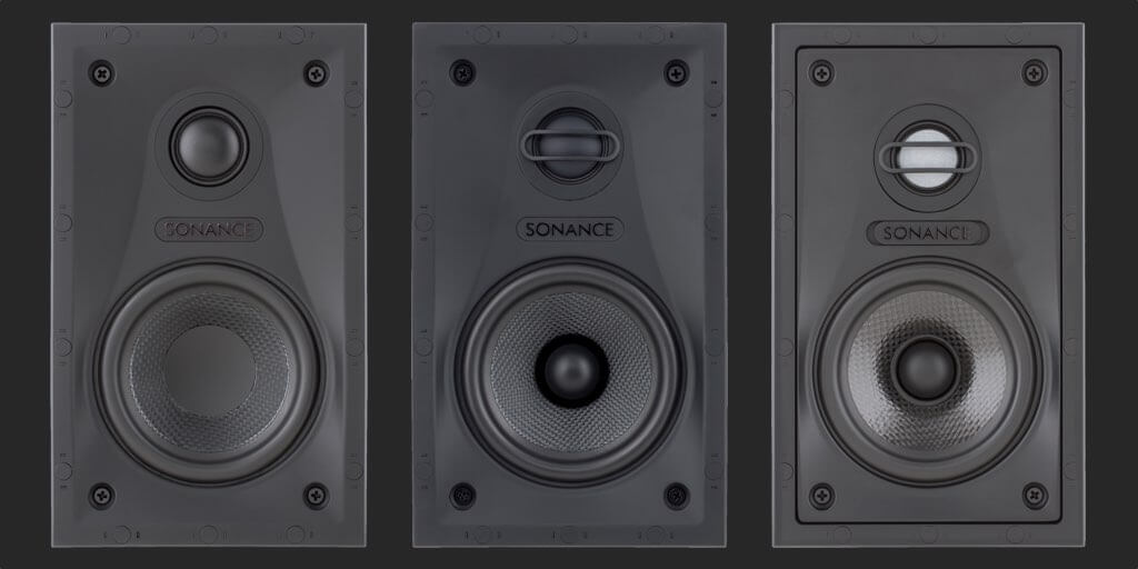 Sales and installation of Sonance Visual Performance Small Rectangle Speakers, in the Miami / Fort Lauderdale area. Available at dmg Martinez Group.