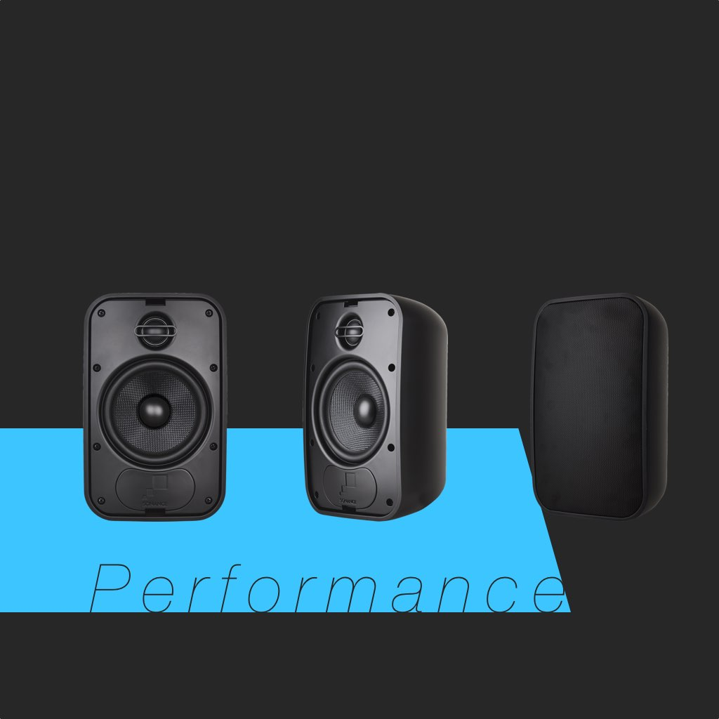 Sonance Mariner 56 in Black PN:93151 Small Outdoor Speaker, in the Miami / Fort Lauderdale area. Available at dmg Martinez Group.