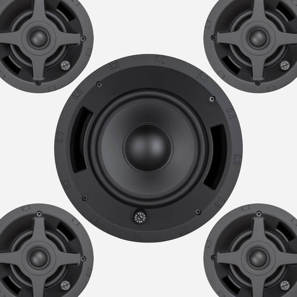 Sonance Professional Series In-Ceiling Speaker & Woofers, in the Miami / Fort Lauderdale area. Available at dmg Martinez Group.