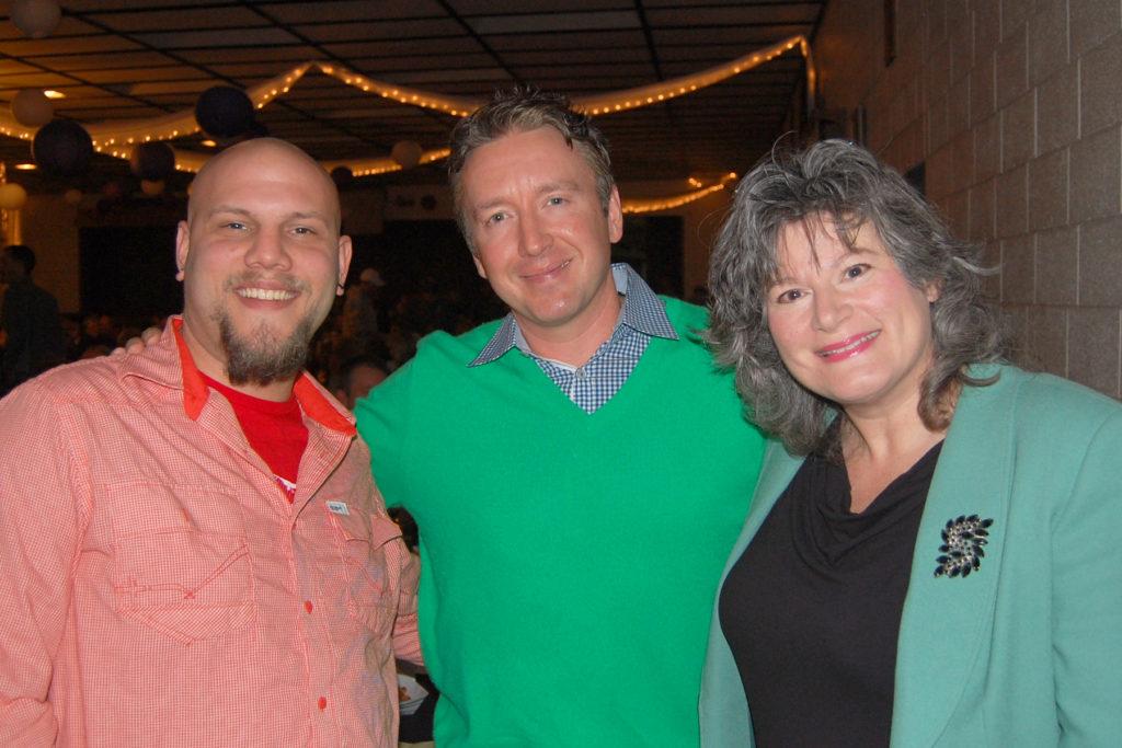 Jason Jacobson, Chad Daniels, and Jenni Lou Russi