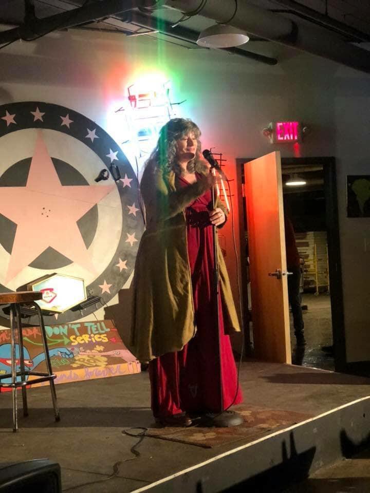 Jenni Lou Russi at Not Your Parent's Basement 2018 CCF
