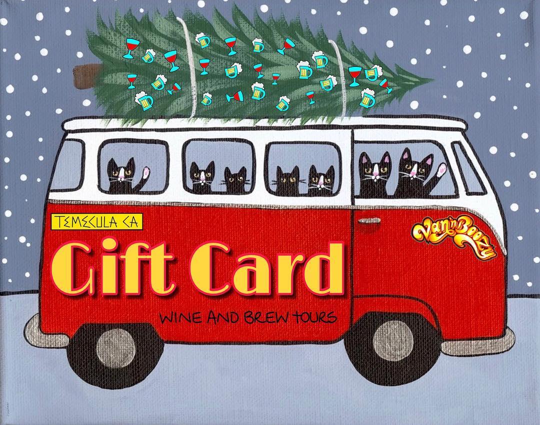 gift cards, gift card temecula, temecula gift card, wine tasting, beer tasting, distillery tour