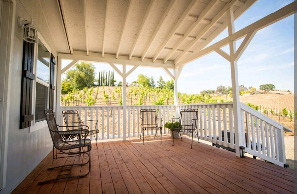 heart of wine country, airbnb