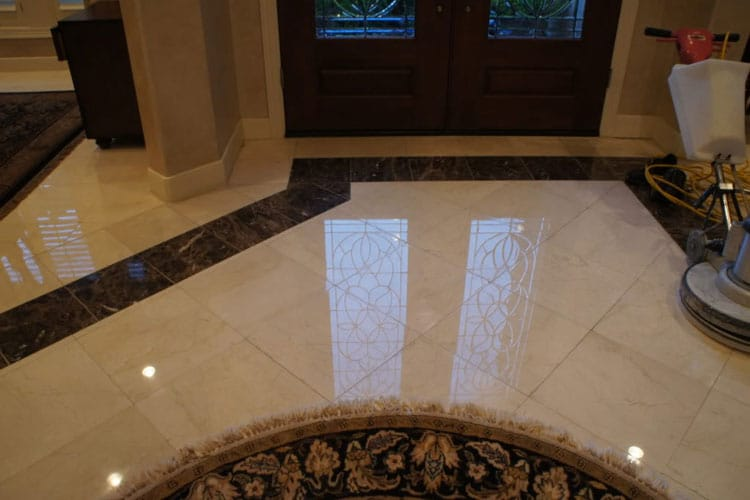 Affordable Marble Stone Floor Cleaning Houston