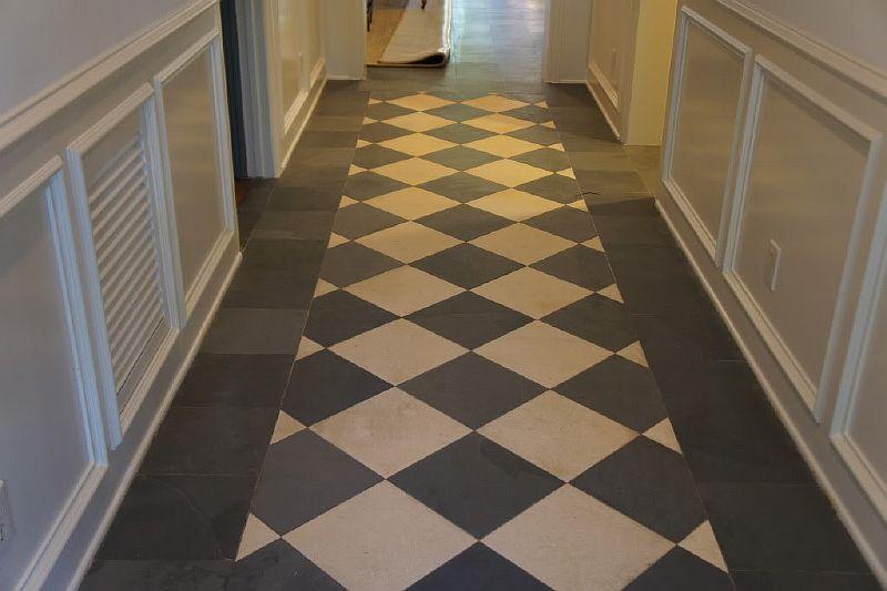 Slate Floor Polishing