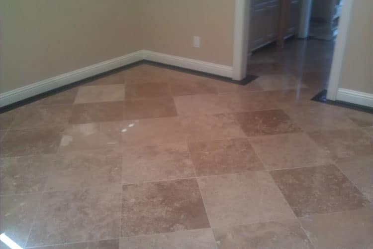 Travertine Floor Cleaning Sealing and Polishing Services in Houston