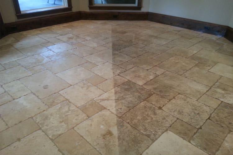 Travertine Floor Cleaning Professionals in Houston