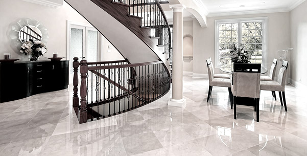 Natural Stone Floor Polishing