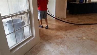 Restore Travertine After Flood Houston