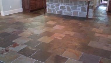 Maintaining Slate Floors in Houston