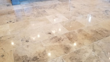 Natural Stone Cleaning Sealing and Polishing in Houston
