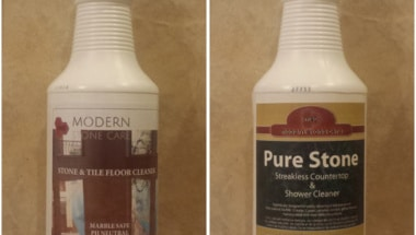 Modern Stone Care Cleaning Products in Houston