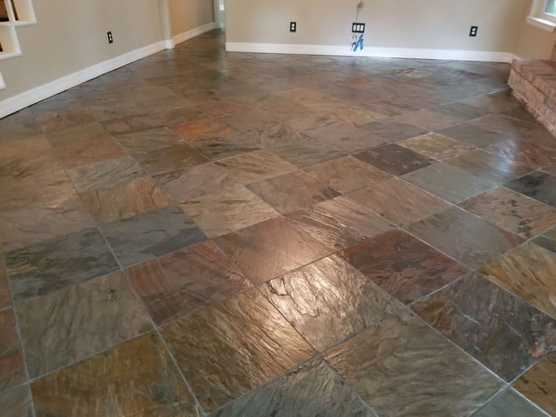 Slate Cleaning Repair and Restoration Experts in Houston
