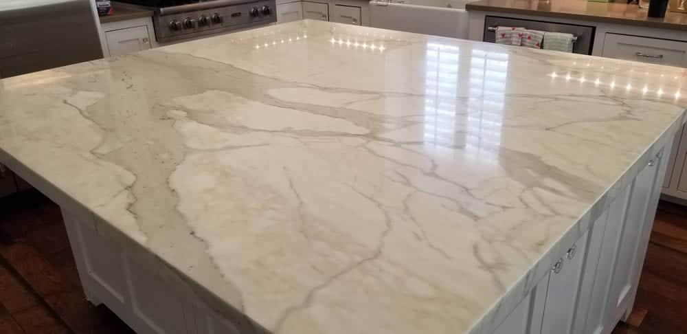 Reflective Natural Stone Polishing