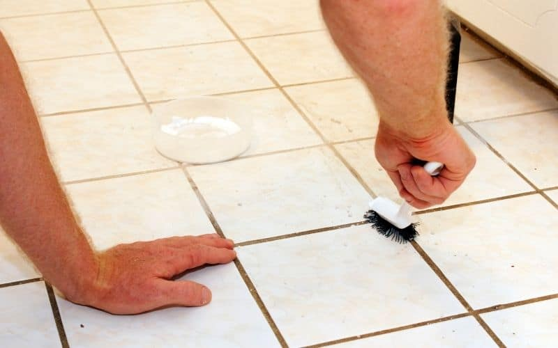 Is Stained Grout Permanent?