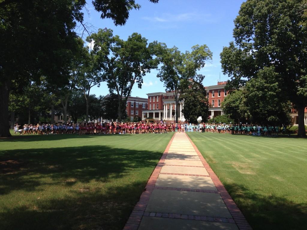 Bid Day, Georgia College