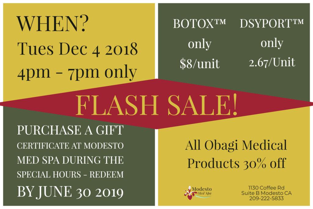 Modesto Med Spa Flash Sale