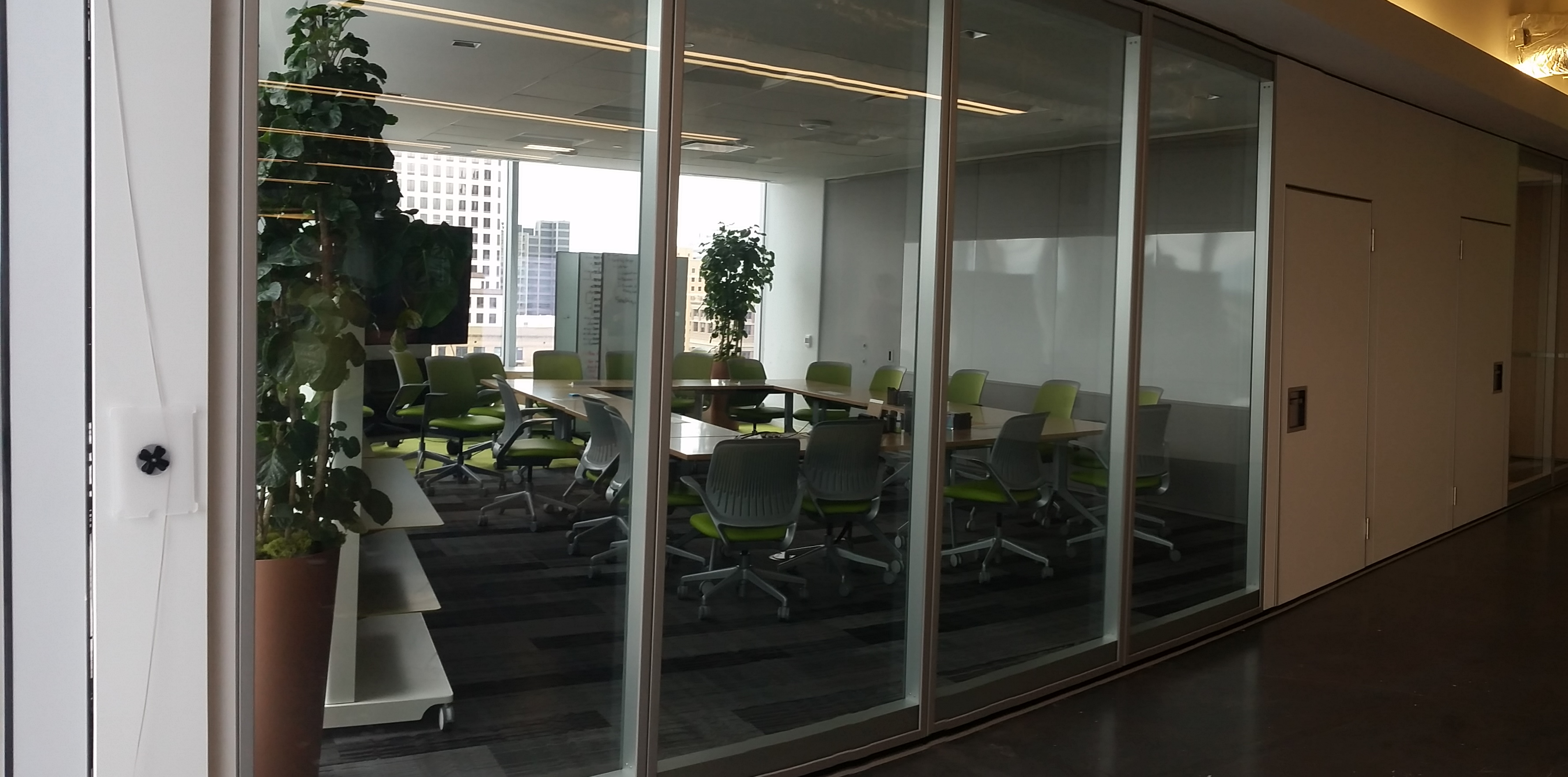 Operable Glass Walls Partition System Repair Service San Antonio Austin