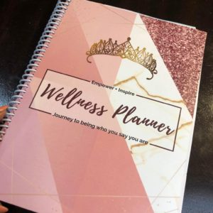 Welnner planner, journal and living tracker