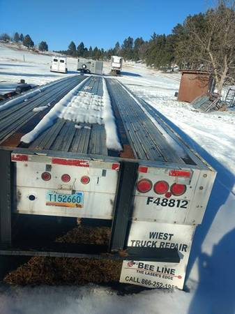**1997 semi Flatbed Trailer 48`NEED GONE OFFER (Hermosa) $11500