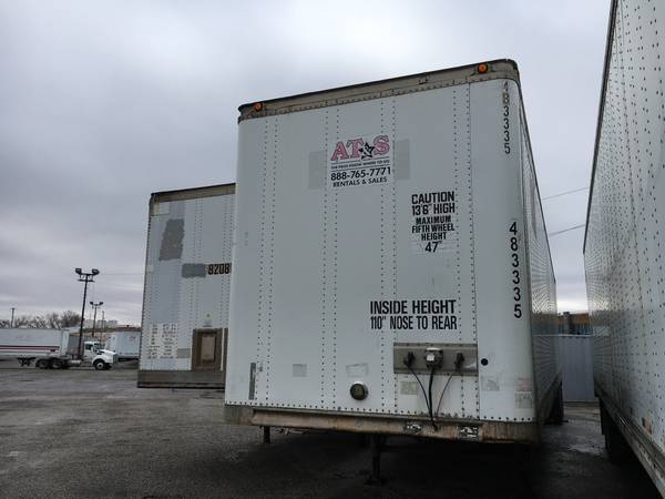 48' Storage Trailers - Semi-Trailers (Kansas City) $190