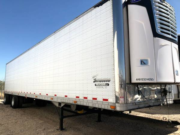 48ft spread axle reefer 2012 carrier 05 great dane semi trailer (tucson) $22900