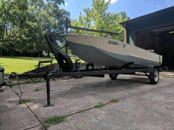 Aluminum Semi V Boat (Merriam) $700