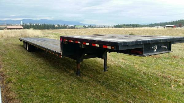 Imperial Flatbed Semi Trailer (Hauser Id) $13500
