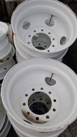 Semi tractor trailer steel wheels (Grand Ledge) $75