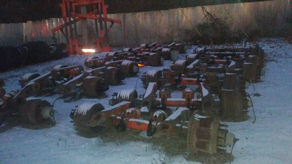Semi Trailer Axles (Kansas City) $555