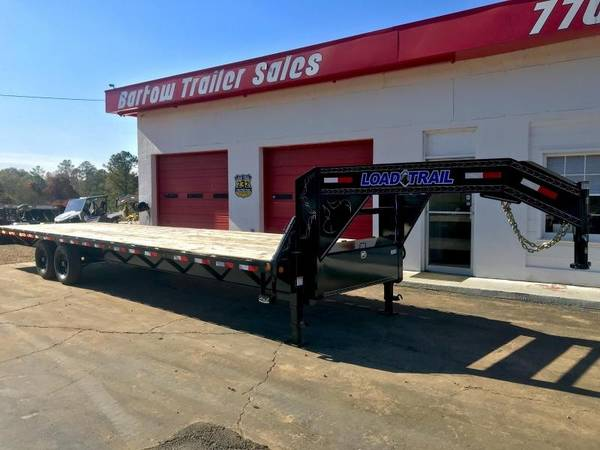 New Load Trail 7 Ton 30ft Flatbed Trailer (Bartow Trailer ...