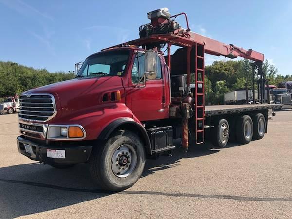 2005 Sterling LT9513 Tandem Axle Crane Truck $28500