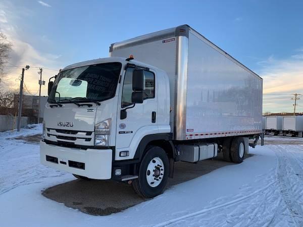 2018 Isuzu FTR 26' Morgan Box Maxon Liftgate 25950 GVW NO CDL $77955