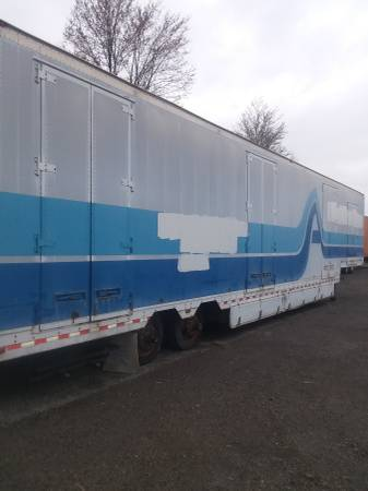 Drop Deck Semi Storage Trailers 53' / 48' (1562 Wood Ave. S.E. East Canton, Ohio) $2500