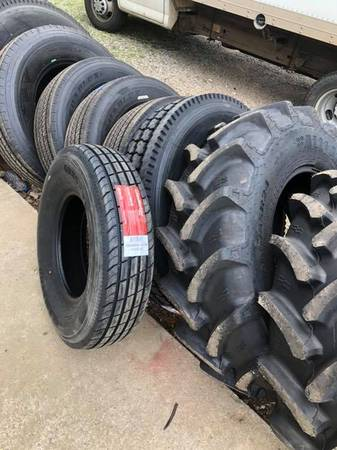 Semi, Construction and Trailer Tires - Free Delivery