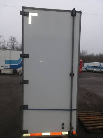 Semi Trailer Set Of Swing Doors ( Complete With All Hardware ) (1562 Wood Ave. S.E. East Canton, Ohio) $450