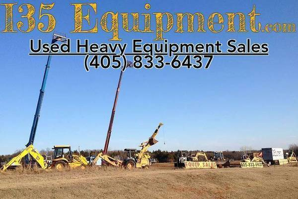 USED HEAVY CONSTRUCTION EQUIPMENT (Guthrie, Ok)