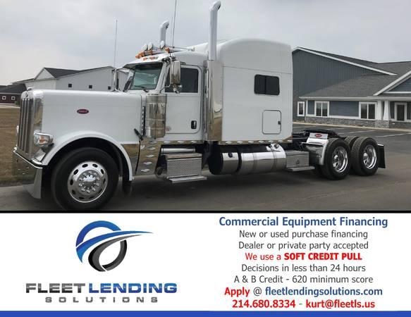 Truck, Trailer, AG & Construction Equipment Financing (Topeka)