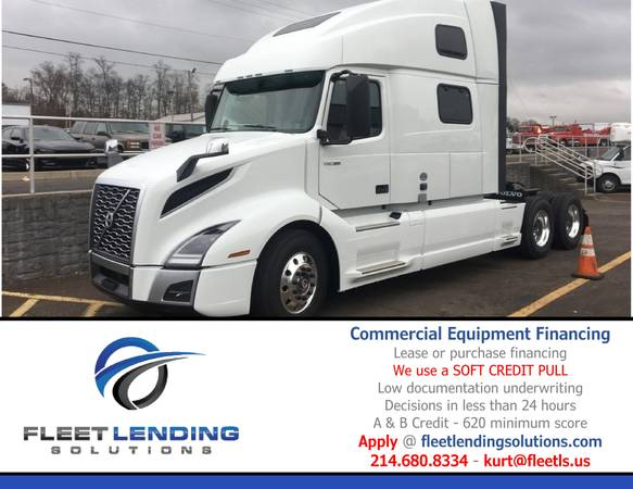 Truck, Trailer, Ag & Construction Equipment Financing (Omaha)