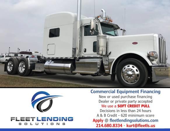 Truck, Trailer, AG & Construction Equipment Financing (Baltimore)