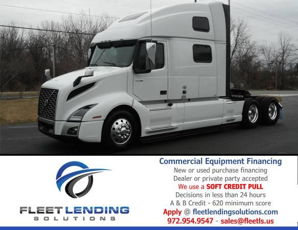 Truck, Trailer, AG & Construction Equipment Financing (Manhatten)